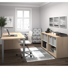 I3 2 Piece Standard Desk Office Suite