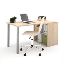 I3 Writing Desk with Storage Unit
