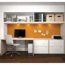 I3 3 Piece Standard Desk Office Suite
