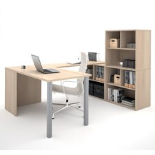 I3 1 Piece U-Shaped Desk Office Suite