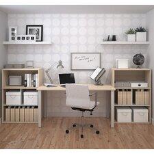 I3 3 Piece Standard Desk Office Suite