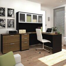 Pro-Concept 2 Piece L-Shaped Desk Office Suite
