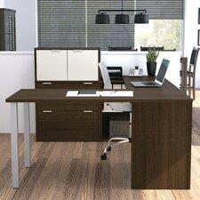 I3 Executive Desk with File Cabinet