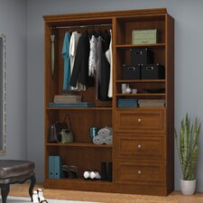 "Versatile 60.8"" Wide Closet System"