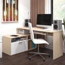 Modula Computer Desk with File
