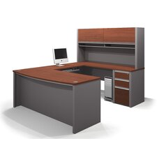 Connexion 2 Piece U-shaped Desk Office Suite