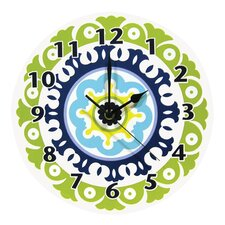 Waverly Solar Flair Wall Clock