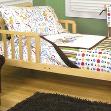 Dr. Seuss ABC 4 Piece Toddler Bedding Set
