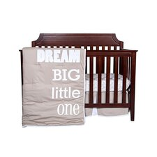 Dream Big Little One 3 Piece Crib Bedding Set