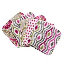 Waverly® Jazzberry Bouquet Wash Cloth