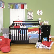 Dr Seuss Cat in the Hat 4 Piece Crib Bedding Set