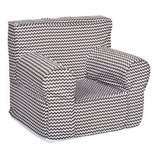 Ombre Gray Kids Cotton Club Chair