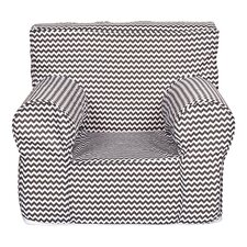 Ombre Gray Kids Accent Chair