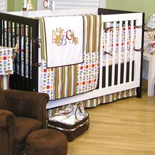 Dr Seuss ABC 4 Piece Crib Bedding Set