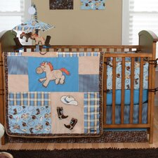 Cowboy Baby 4 Piece Crib Bedding Set