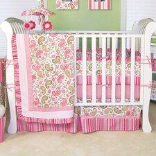 Paisley Park 3 Piece Crib Bedding Set