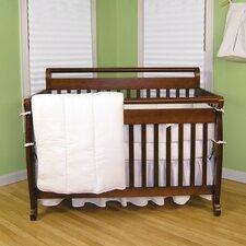 Pique 4 Piece Crib Bedding Set