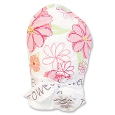 Hula Baby Blooming Bouquet Hooded Bath Towel