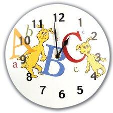 "Dr Seuss ABC 11"" Wall Clock"