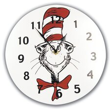 "Dr. Seuss Cat in the Hat 11"" Wall Clock"