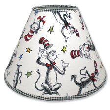 """7"""" Dr Seuss Cat in the Hat Cotton/Polyester Empire  Lamp Shade"""