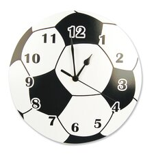 "11"" Soccer Ball Wall Clock"