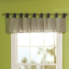 "Perfectly Preppy Tap Top 56"" Curtain Valance"