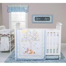 Forest Tales 6 Piece Crib Bedding Set