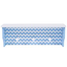 Chevron Wall Shelf