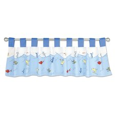 "Dr. Seuss 1 Fish 2 Fish 53"" Curtain Valance"