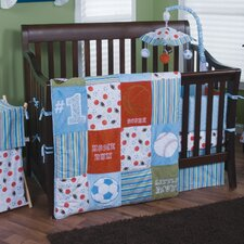 Little MVP 3 Piece Crib Bedding Set