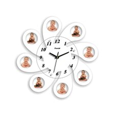 """18.11"""" Picture Frame Wall Clock"""