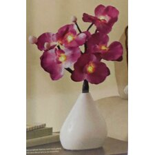 "LED Orchid 15"" H Table Lamp"