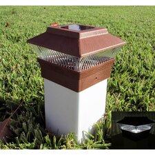 Solar Cap 5 Light Fence Post Cap