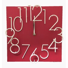Raised Number Wall Clock