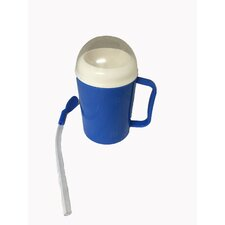 0.6 lb. Portable Ice Maker in Blue