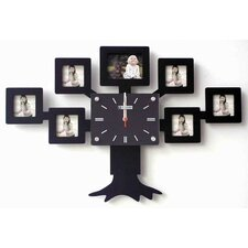 Family Tree Photo Clock