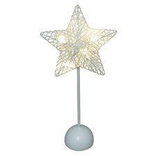 """16"""" H Table Lamp with Novelty Star Shade"""