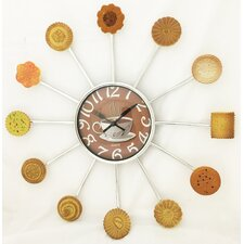 """15"""" Cookies and Coffee Clock"""