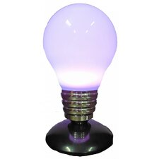 """Purple LED Light 14.27""""H Table Lamp with Novelty Shade"""