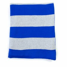 Rugby Stripe Cotton Throw