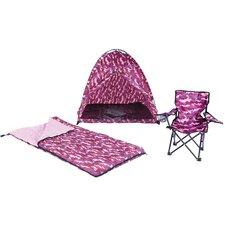 Camo 3 Piece Play Tent Set