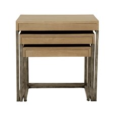 Bella Antique Sully 3 Piece Nesting Tables