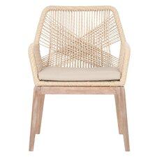 New Wicker Loom Arm Chair (Set of 2)