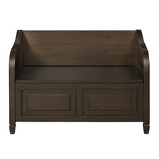 Connaught Wood Storage Entryway Bench
