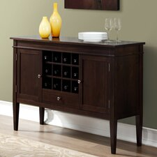Carlton Sideboard Buffet and Wine Rack