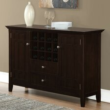Bedford Sideboard Buffet And Wine Rack