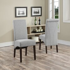 Avalon Fabric Parsons Chair (Set of 2)