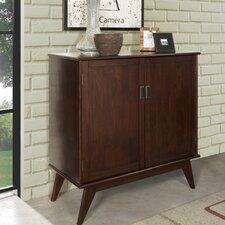 Draper Mid Century Medium Storage Cabinet