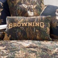 Camo Deer Cotton Lumbar Pillow